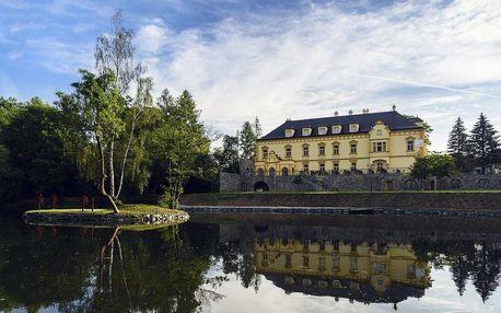 Luxusní prostředí sobotínského zámku v Hotelu Klein