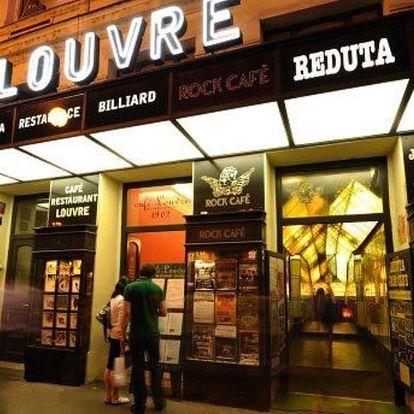 Lístek na libovolný koncert do Jazz Clubu Reduta
