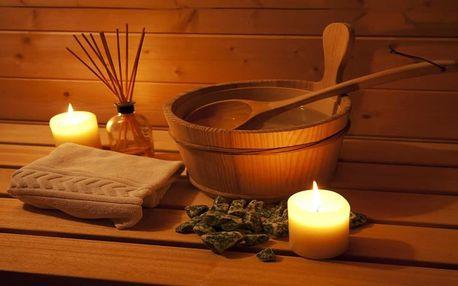Privátní sauna pro 2 osoby v salonu Sokol wellness na Smíchově