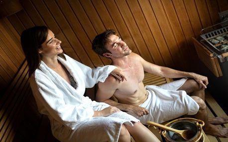 Privátní sauna a vířivka pro 2 v salonu Sokol wellness na Smíchově