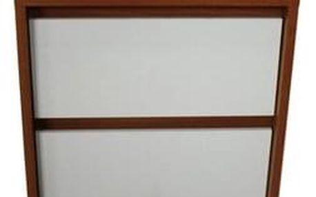 Noční stolek Da Vinci třešeň/bílá