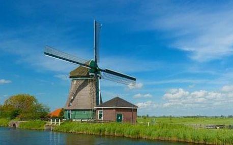 Za chutí sýrů a mlýny do Amsterdamu a Zaanse Schans