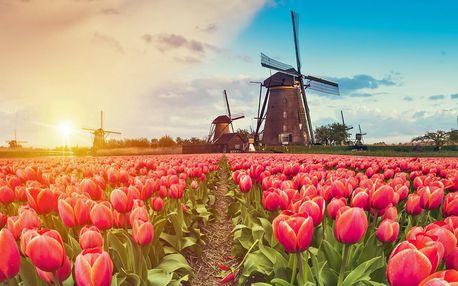Keukenhof, Zaanse Schans a Amsterdam na 1 noc