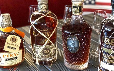 Neřízená degustace světových rumů