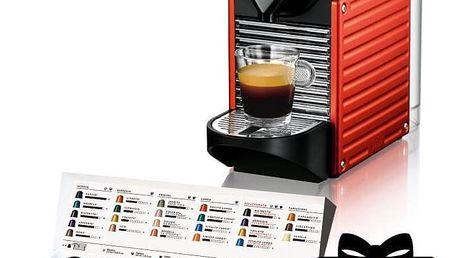 Krups Nespresso Pixie XN3006 černé/červené