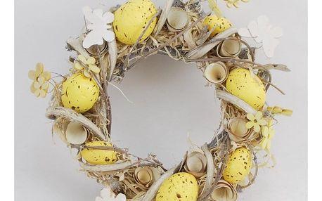 Velikonoční věnec Easter, pr. 23 cm