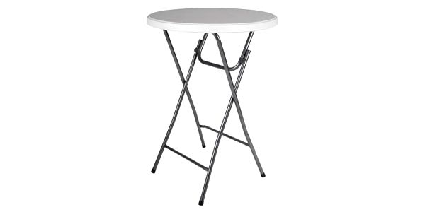 Garthen BISTRO 41003 Párty stolek skládací vč. elastického potahu 80 x 80 x 110 cm4