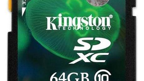 Kingston SDXC 64GB UHS-I U1 (45R/10W) (SD10VG2/64GB)