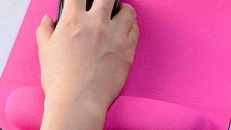 Ergonomická podložka pod myš - 4 barvy