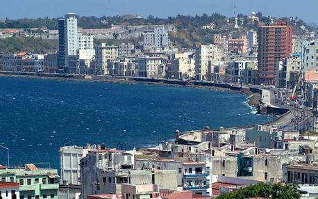 Kuba - La Habana (Havana) na 9 až 12 dní, snídaně s dopravou letecky z Prahy