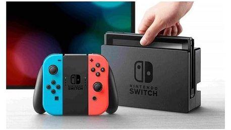Nintendo Switch s Joy-Con - modro/ červená červená/modrá (NSH005)