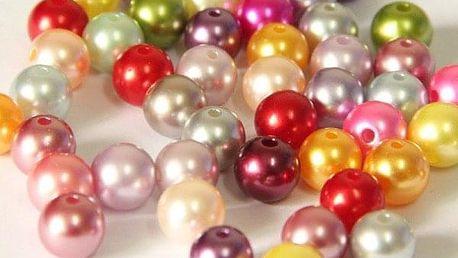 Akrylové perly na navlékání