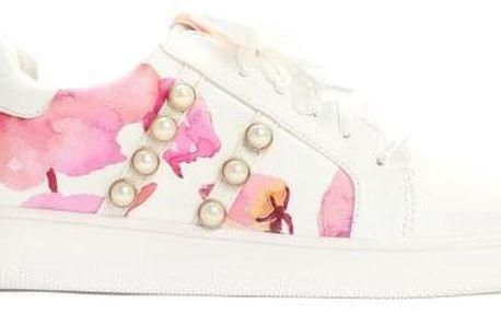 Dámské bílé tenisky Sadie 7188