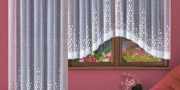 Forbyt Kusová záclona Paula, 200 x 250 cm, 200 x 250 cm