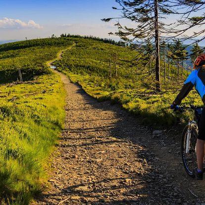 Jaro nebo léto v Beskydech pro cyklisty i turisty