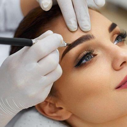3D permanentní make-up obočí
