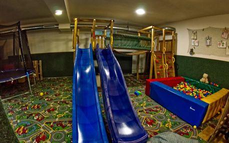 Hotel s největší dětskou hernou v Beskydech ve všední dny