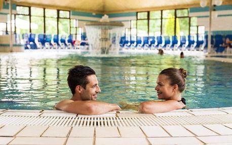 Slovinsko, Banovci, příjemný hotel Zeleni gaj s termálním aquaparkem kousek od rakouských hranic