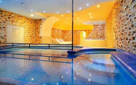 Špindlerův Mlýn v Hotelu Lesana *** s polopenzí, bohatým wellness a lanovkou