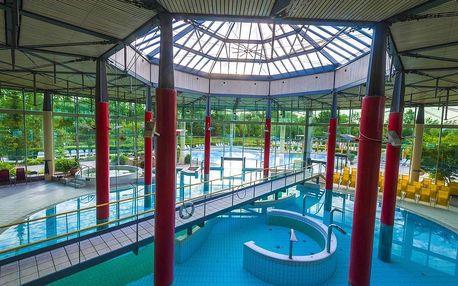 Slovinsko, Radenci, hotel Izvir s termálním světem kousek od rakouských hranic
