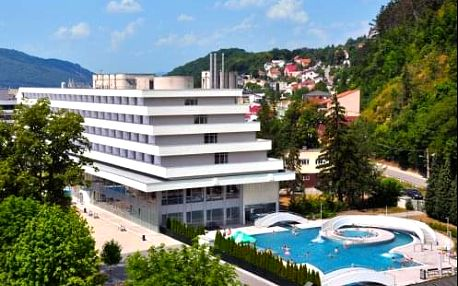 Léčebný pobyt Minirelax v lázních Trenčianske Teplice v 3 * hotelu Krym s procedurami