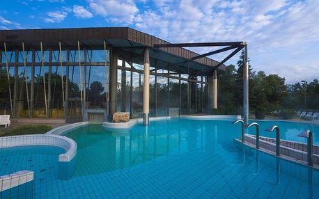 Slovinsko Radenci, hotel Radin s termály s minerální vodou kousek od rakouských hranic