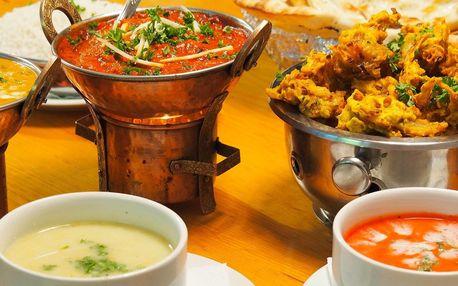 Sestavte si hostinu: 3chodové nepálské menu pro 2