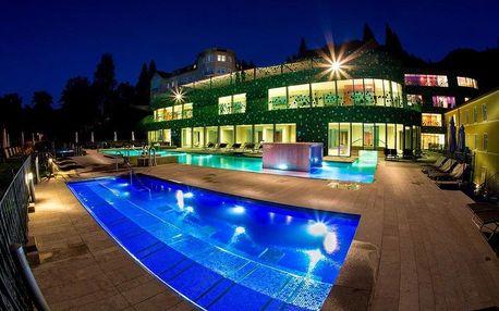 Slovinsko, Rimske Toplice, nový hotel Rimski Dvor s wellness a římskými lázněmi