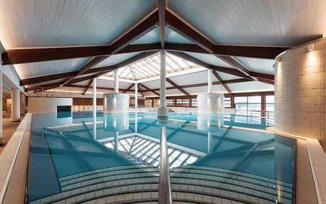 Slovinsko, Moravske Toplice, hotel Termal s unikátní černou termální vodou, obrovským lázeňským areálem