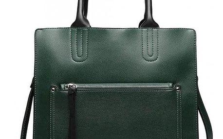 Dámská zelená kabelka Moa 6860
