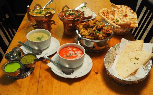 3chodové nepálské menu: autentické jídlo plné vůní a pestrá nabídka chodů3