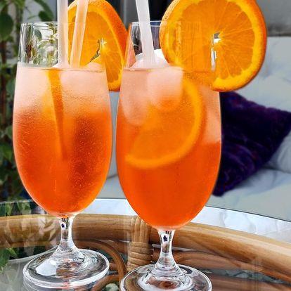 2x Aperol Spritz s pomerančem