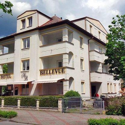 Českolipsko v hotelu v obci Doksy nedaleko Máchova jezera s polopenzí a koktejlem