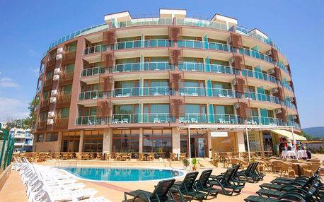 Bulharsko, Slunečné pobřeží: Hotel 3*, na pláži, snídaně s možností večeří, 7 nocí, doprava autobusem z celé ČR