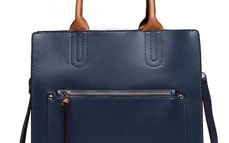 Dámská modrá kabelka Moa 6860