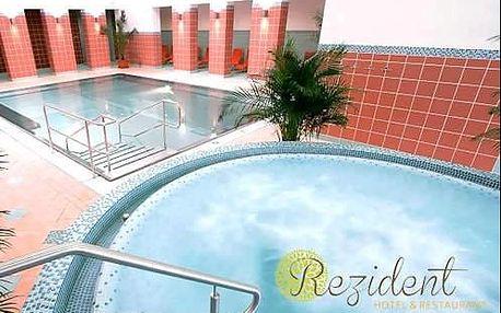 Výborný rehabilitační pobyt Turčianske Teplice SENIOR GOLD s procedurami v 3* hotelu