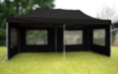 Garthen 6158 Střecha k zahradnímu stanu - 3x6m - černá