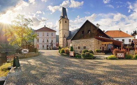 Rožmberk nad Vltavou v hotelu se snídaní a degustační večeří + wellness nebo balíček regionálních produktů