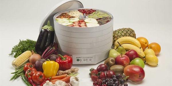 Sušička ovoce Ezidri FD 500 Snackmaker bílá3