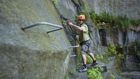 Via ferrata - základy lezení s instruktorem