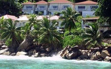 Seychely - La Digue na 10 dní, snídaně s dopravou letecky z Prahy, 80 m od pláže