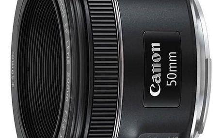 Canon EF 50 mm f/1.8 STM černý