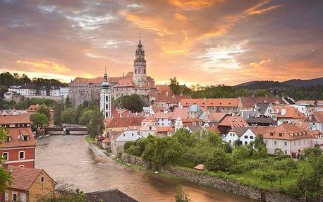 Český Krumlov: pobyt s možností grilování