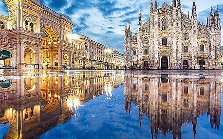 Pobyt pro 2 osoby na 2 nebo 3 noci v luxusním hotelu se snídaněmi. Milán město módy a nákupů.