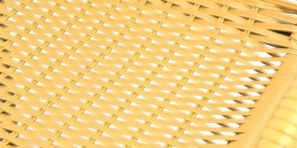 Garthen 35058 Zahradní bistro židle - stohovatelná, béžová2