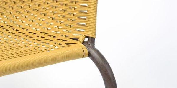 Garthen 35058 Zahradní bistro židle - stohovatelná, béžová3