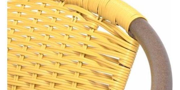 Garthen 35058 Zahradní bistro židle - stohovatelná, béžová5