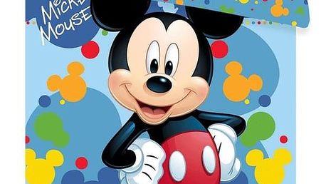 Jerry fabrics Disney povlečení do postýlky Mickey baby 02 100x135 + 40x60 cm