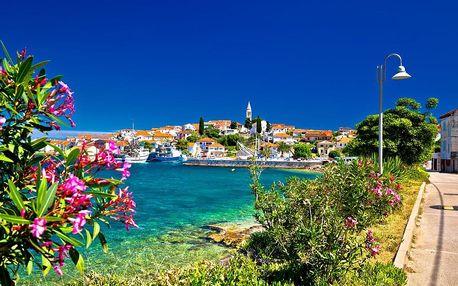 Chorvatsko - Severní Dalmácie autobusem na 10 dnů