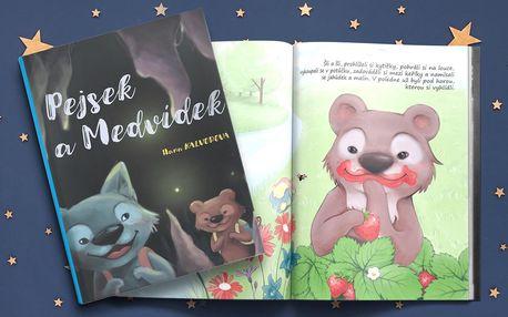Milá pohádková knížka Pejsek a Medvídek